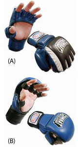 MMA sparring gloves type