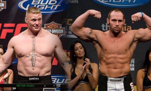 UFC 116 Lesnar v Carwin Brock-lesnar-shane-carwin-side-by-side
