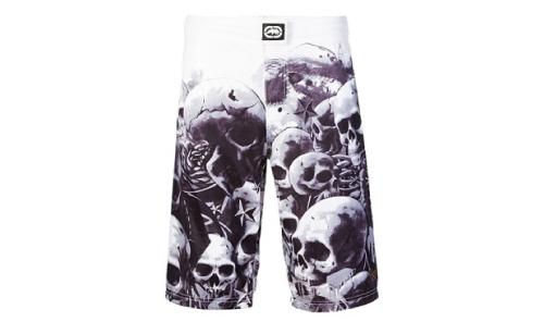 D1M17aR Merchandise Ecko-skull-graveyard-mma-shorts