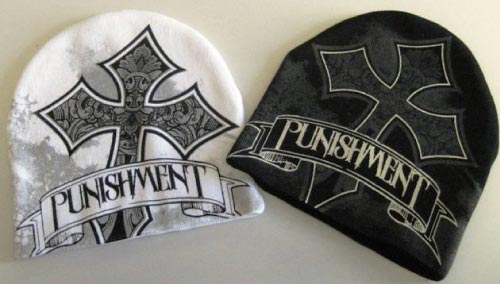 punishment-cross-mma-beanie
