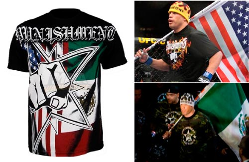 punishment-mexican-mma-t-shirt