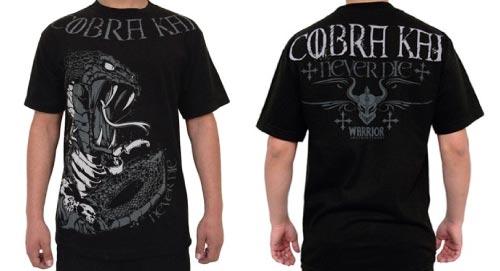 Cobra Kai Shirt: Warrior Cobra Kai Never Dies T Shirt