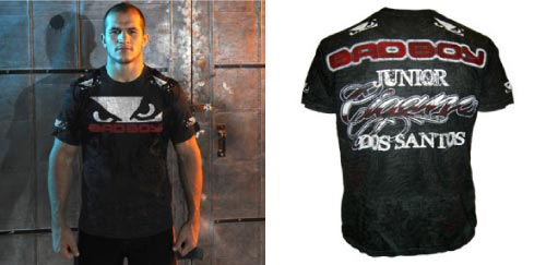 junior dos santos t shirt ufc 117
