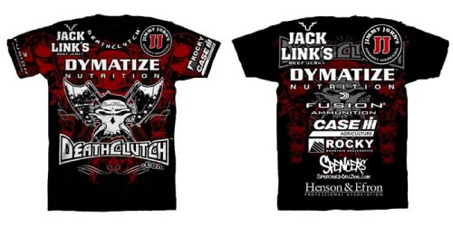 Brock Lesnar T shirt With Sponsors