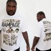 Team Rampage T shirt UFC 123