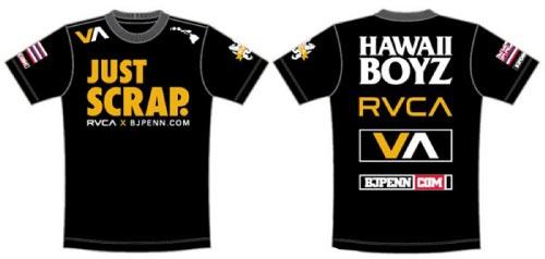BJ Penn T Shirt UFC 123