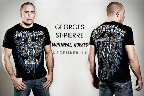 Georges St Pierre T Shirt