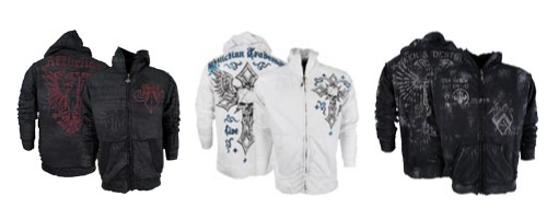 Affliction MMA Hoodies