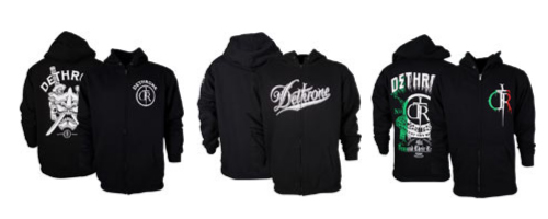 Dethrone MMA Hoodies