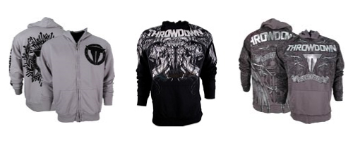 Throwdown MMA Hoodies