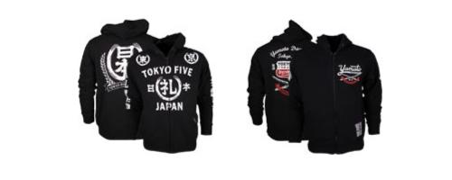 Tokyo Five MMA hoodies