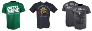 Jon Fitch Dethrone T Shirts